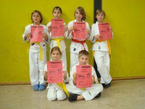"Wettkampfgeschehen bei den Judo-""Küken""U11"