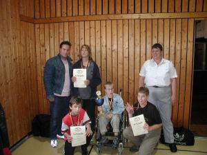 Gewinner der Abteilung Judo trotz Handicap