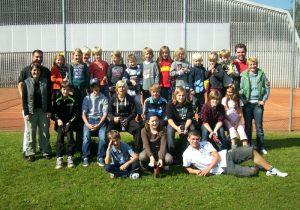 Teilnehmer des Zeltlagers