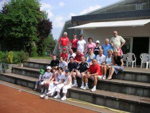 Saisoneröffnung auf der Tennisanlage 2008