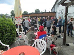 Mainflinger Fans feier Derbysieg & Saisonabschluss
