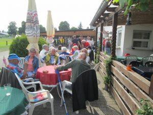 Mainflinger Fans feiern Derbysieg & Saisonabschluss