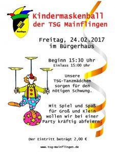 Kinderkappenabend TSG 2017 A4