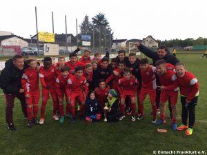 Turniersieger Eintracht Frankfurt